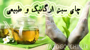 چای سبز ارگانیک و طبیعی 100 گرمی